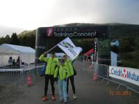 13.10.2013 Półmaraton w Ferette we Francji.