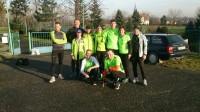Trening 05.01.2014 na trasie półmaratonu. Pobiegliśmy dla Adasia.